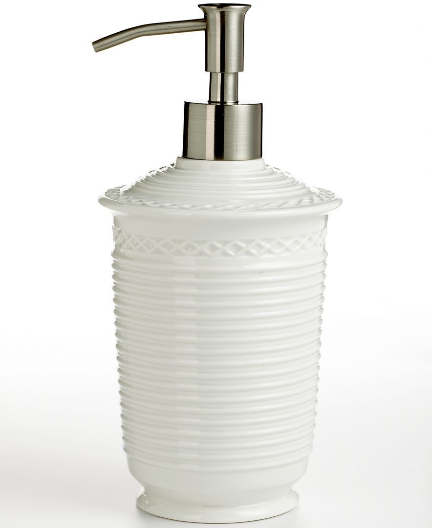 Martha Stewart Collection Trousseau Soap And Lotion Dispenser   Bathroom  Accessories   Bed U0026 Bath   Macyu0027s