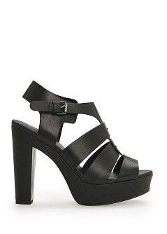 MANGO - NEW - Gladiator platform sandals