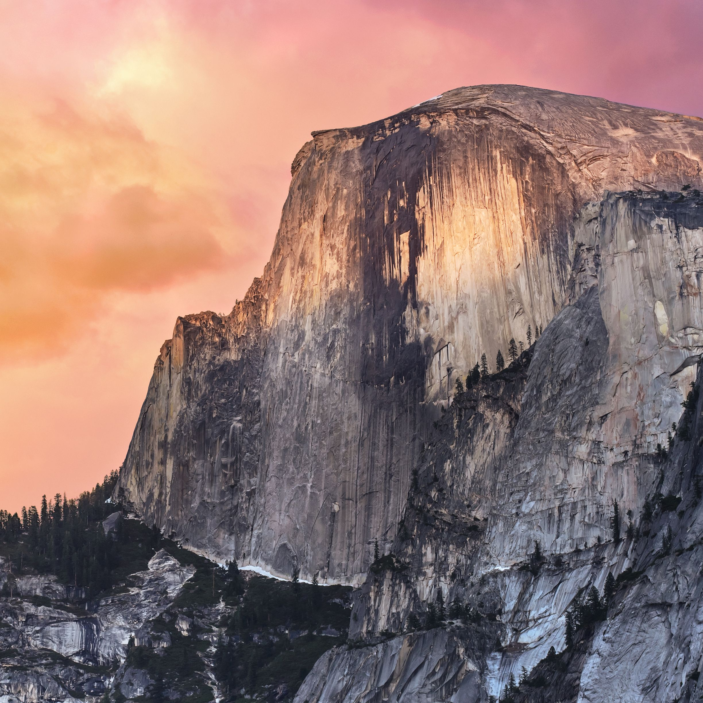 Soon the New MAC OS X Wallpaper From Yosemite Park