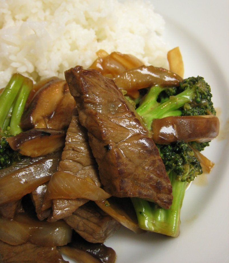 Beef and Broccoli - my Dad used to make this for us all ...