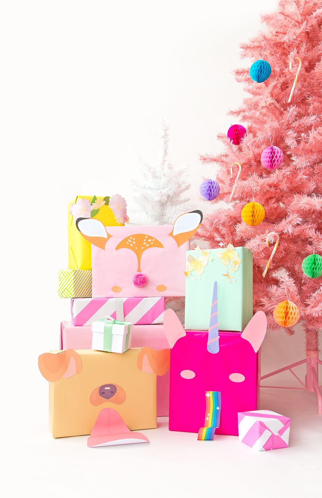 4 snapchat filter presents | holiday: christmas | Pinterest