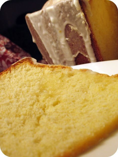 Lemon Pound Cake Made With Real Lemons