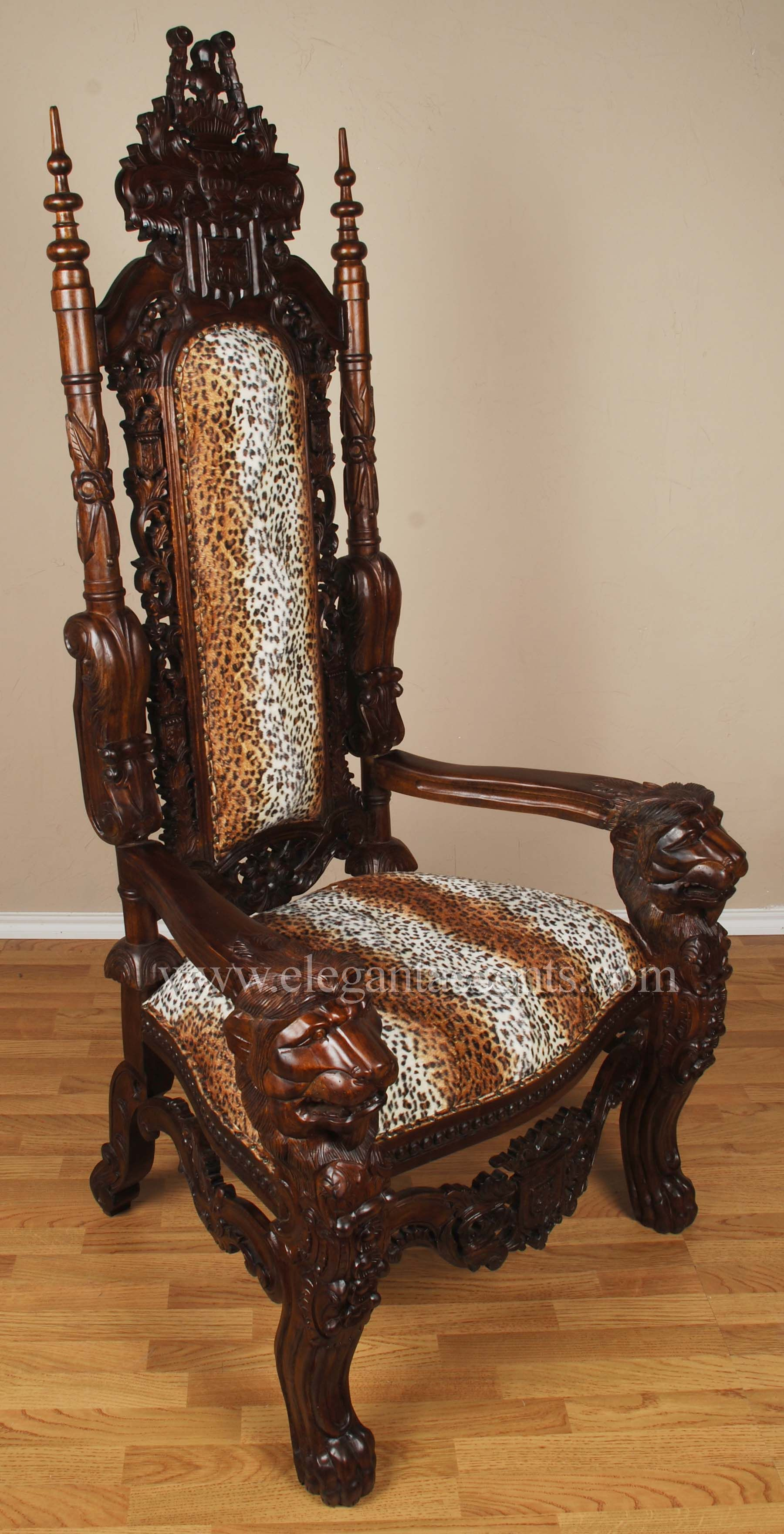 """Throne Chair"""" My husband got a chair just like this one on"""