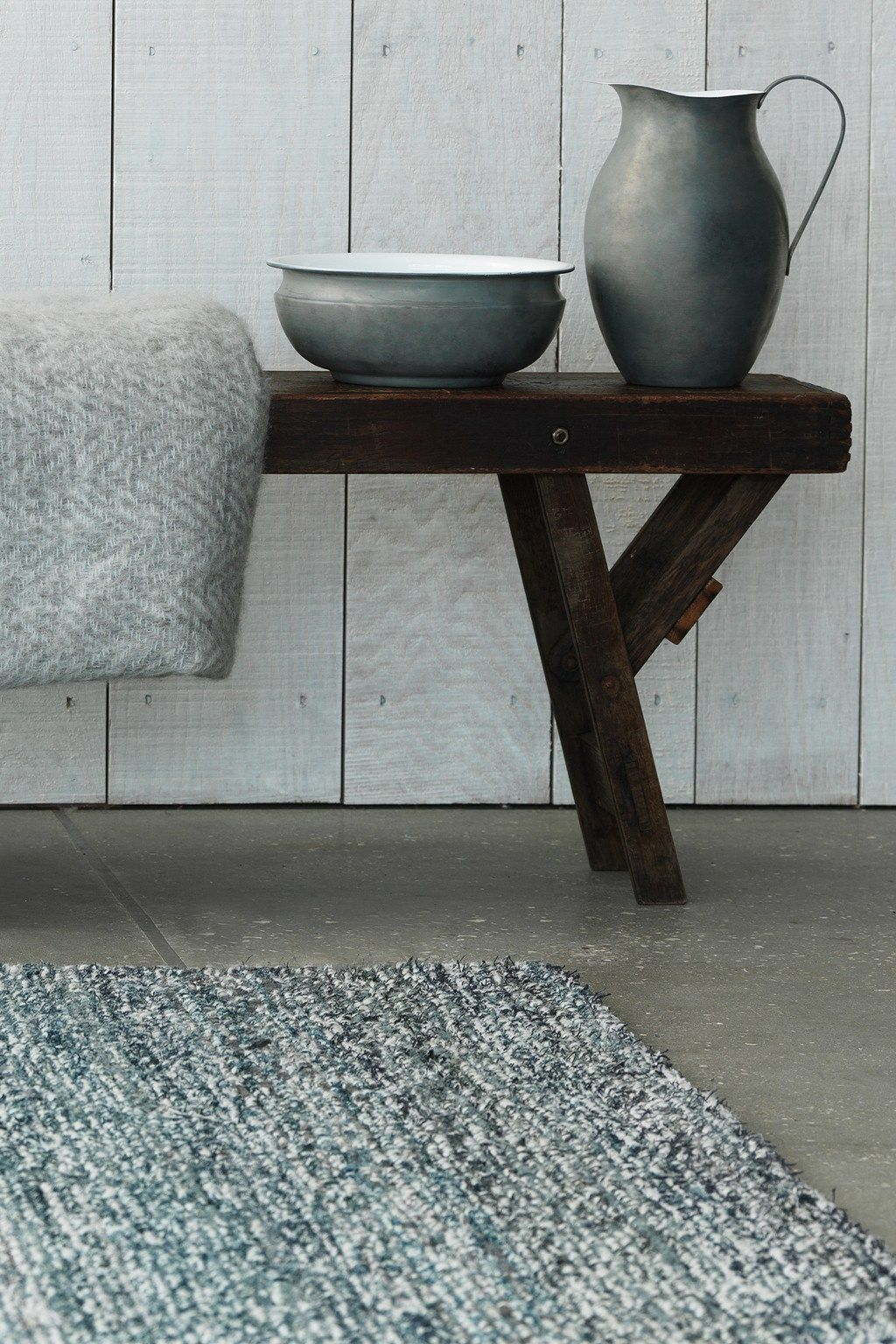 Recycled Denim Rug By French Connection