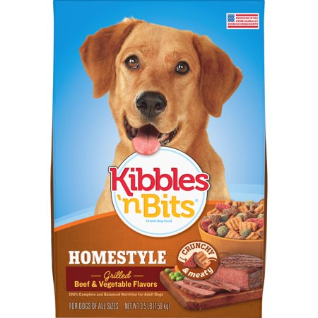 Kibbles N Bits Chef S Choice Homestyle Grilled Beef Vegetable