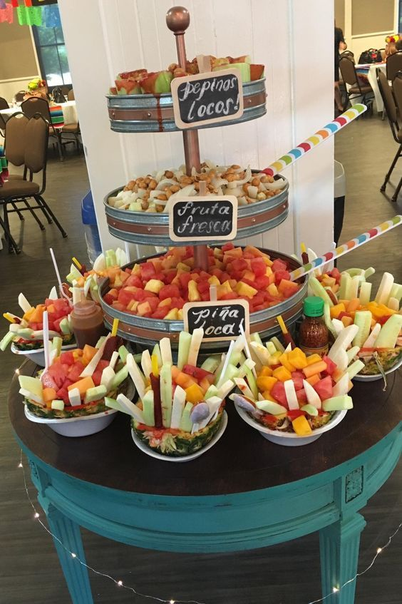 Candy Tray For Movie Night Mexican Birthday Parties Food