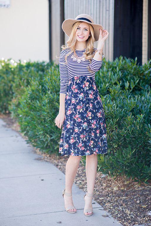 42636148ad4 Olivia Print Block Dress Womens Boutique Dresses