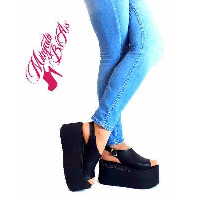 e97744b082 Zapatos Sandalias Con Flecos Plataforma Moda Verano 2017 -   849