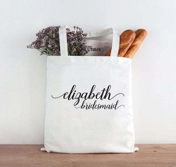 Personalized Maid of Honor Tote!