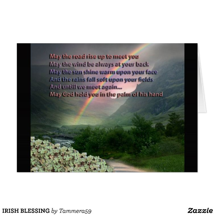 Greeting cards note cards and irish blessing greeting card greeting cards note cards and irish blessing greeting card templates m4hsunfo