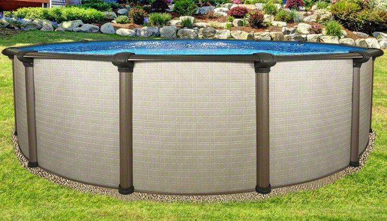 12 X54 Melenia Round Pool Best Above Ground Pool Oval Pool Pool Landscaping