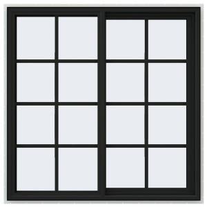 milgard windows home depot design ideas v4500 series righthand sliding vinyl window with grids bronze windowshome depotvinylsbronzeexterior jeldwen 475 in