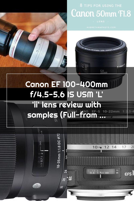 Pin En Canon Lens