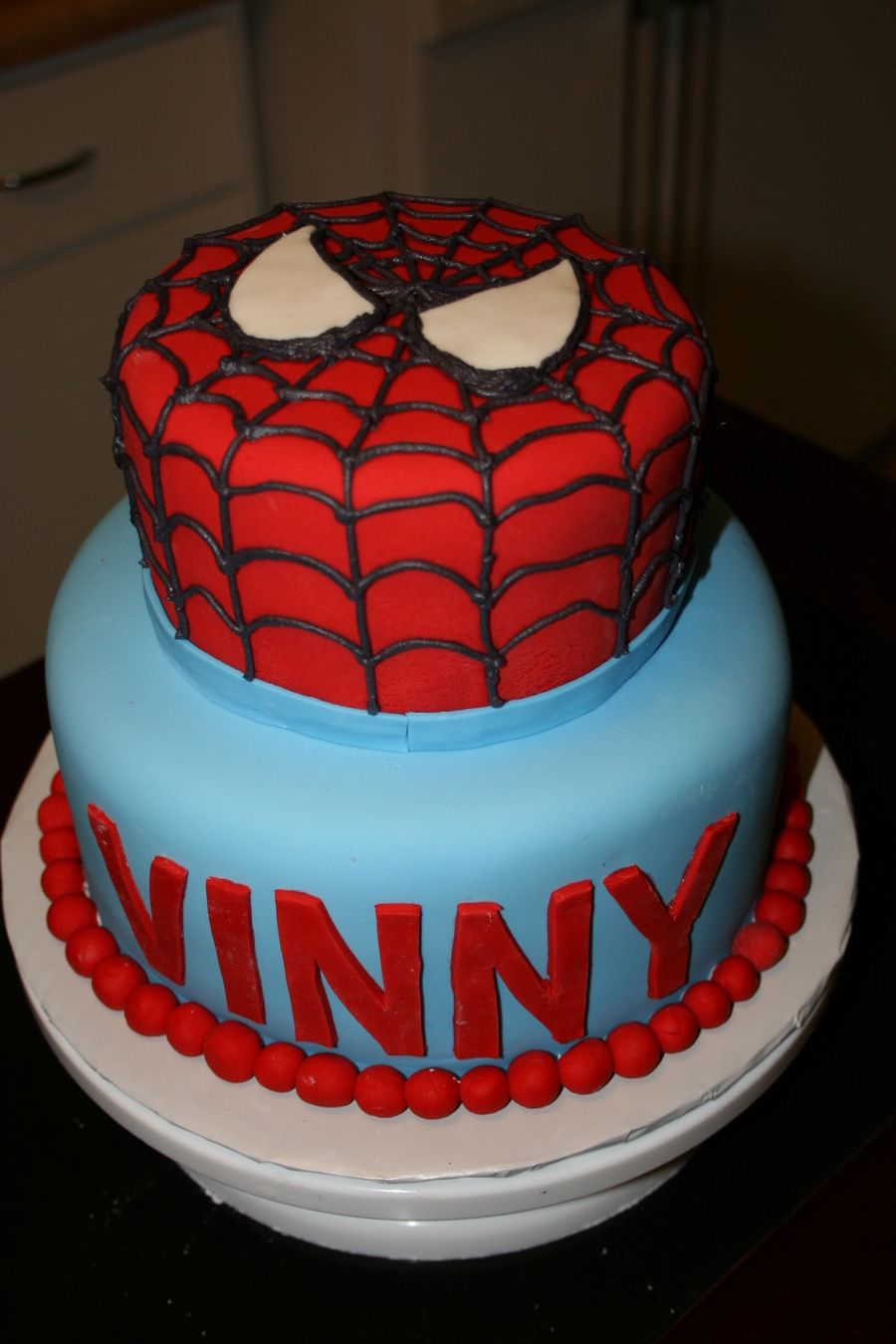 Spiderman For Vinny on Cake Central DYI BDAY PARTY Pinterest