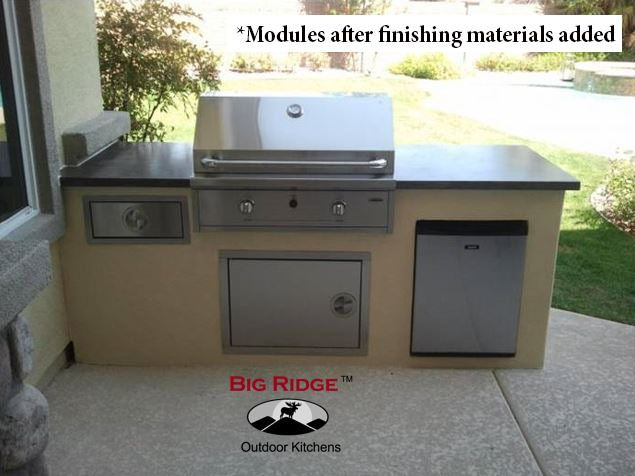 Diy Packages Build Your Own North Shore Outdoor Kitchen Outdoor Kitchen Kits Prefab Outdoor Kitchen