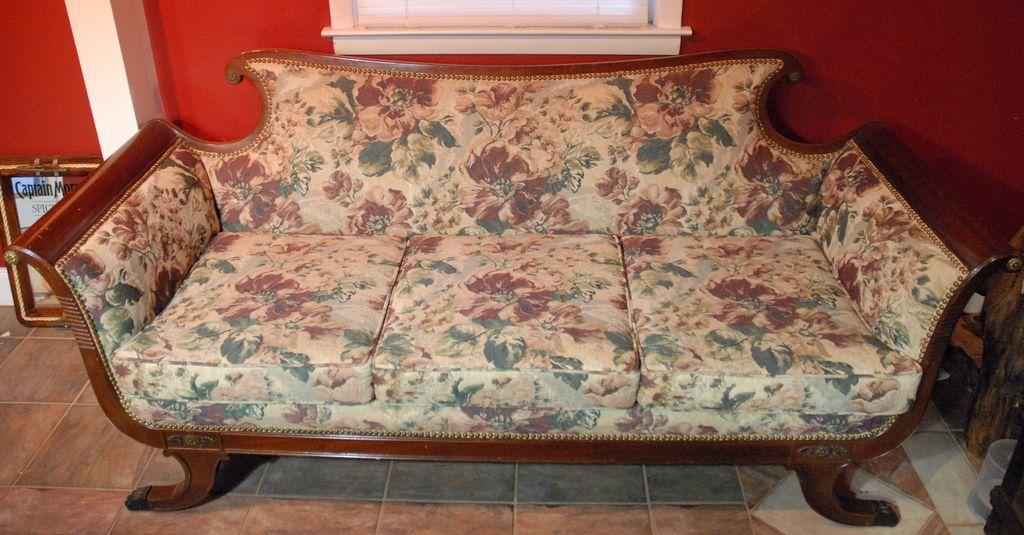 Victorian Sofa With Metal Claw Feet Victorian Sofa Home Decor House