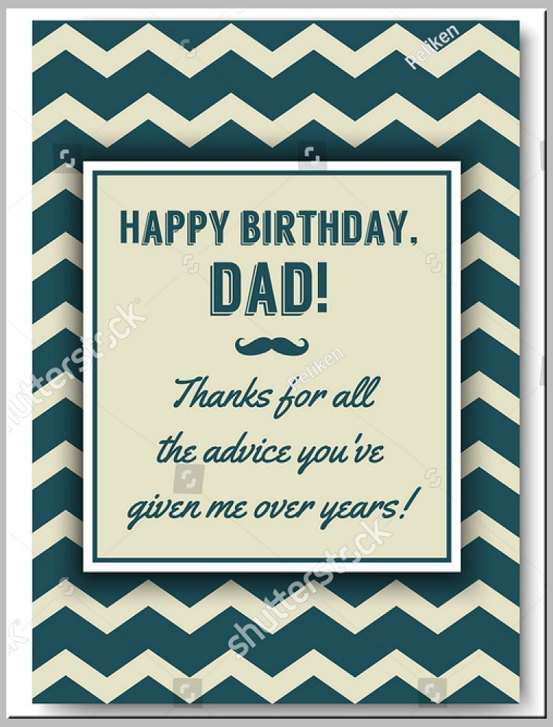 73 Blank Happy Birthday Card Template For Dad With Stunning Intended For Blank Quarter Fold Happy Birthday Daddy Card Dad Birthday Card Birthday Card Template