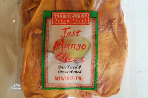 low iodine diet dried mango from trader joes?