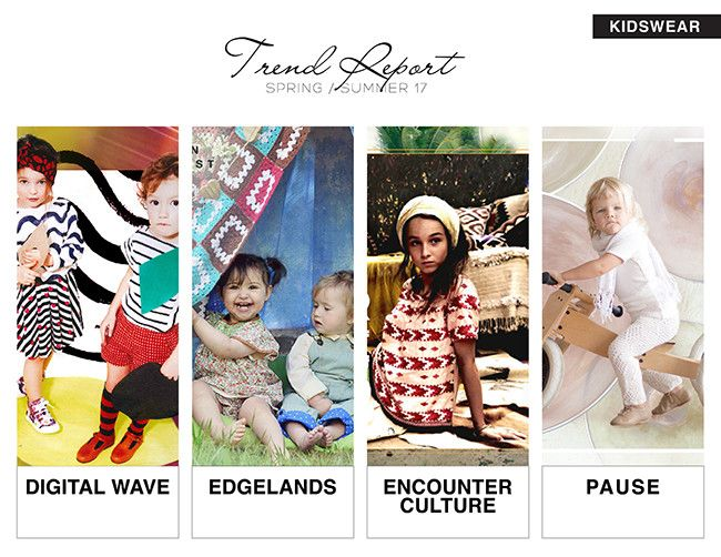 Exceptionnel Spring / Summer 2017 Kidswear Fashion Macro Trends   Digital Wave,  Edgelands, Encounter Culture