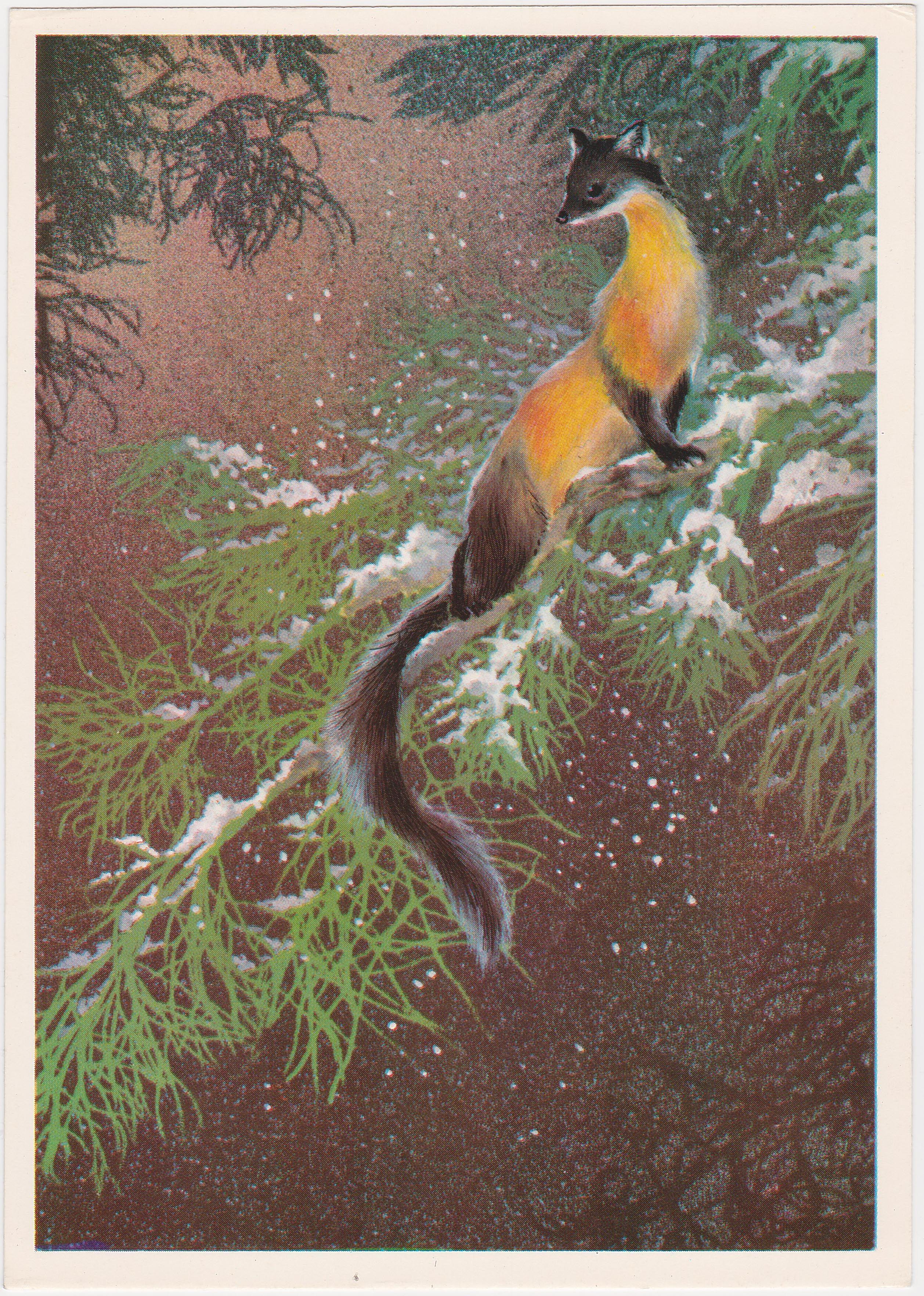 Марта, открытки советские исаков