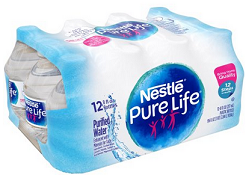 Nestle Pure Life Water 12-Pack, ONLY $1.38 each at #Walmart http://po.st/kCaXLL