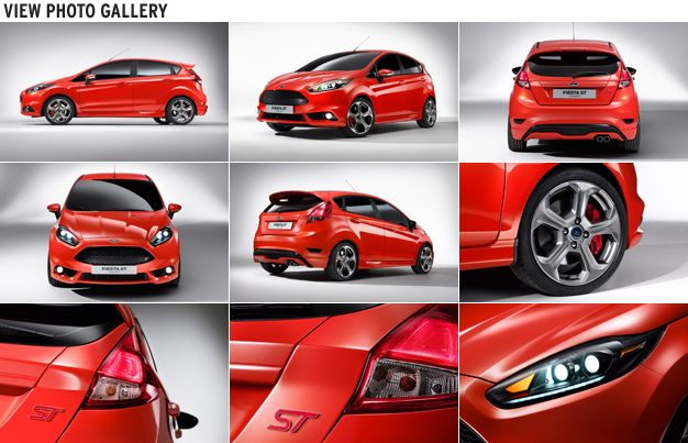 Ford Bringing Five-Door Fiesta ST Concept to L.A. Auto Show | Car ...