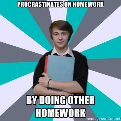 What kind of homework does IB give?