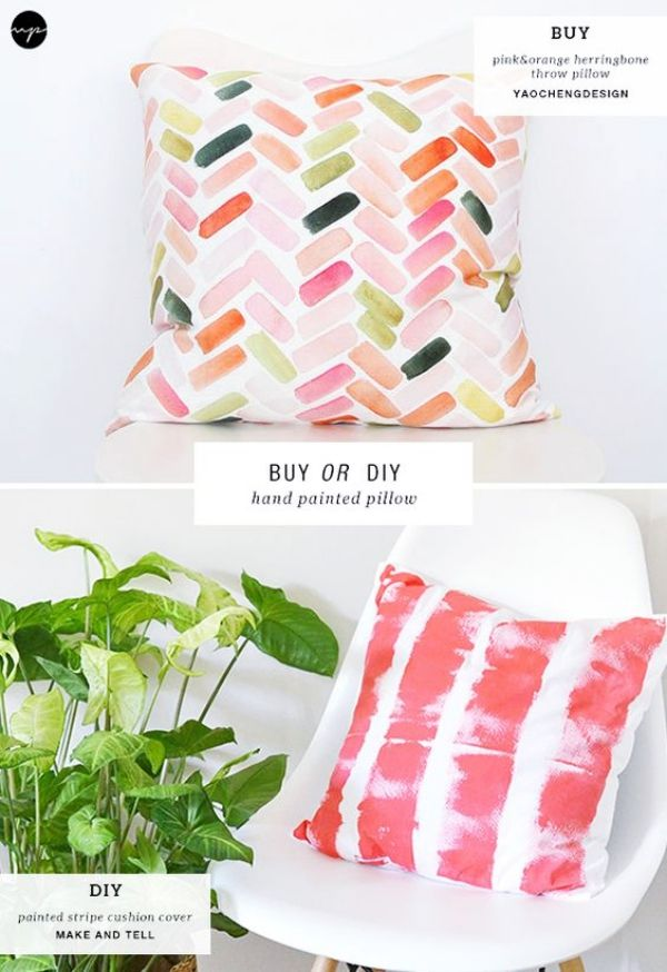 40 Insanely Creative Fabric Painting Ideas #fabricstamping