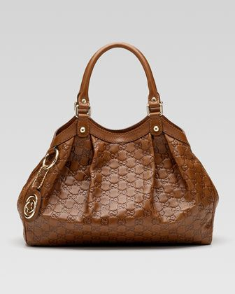 0c127fb8a29d MED SUKEY SHLDR IN GUCCISIMA by Gucci - I need this bag. Like, spiritually.