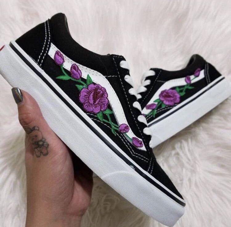 Pin de Maria Beatriz em calçados | Tênis vans feminino, Vans