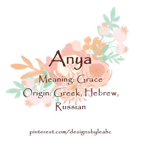20++ Anya baby name meaning in hindi info