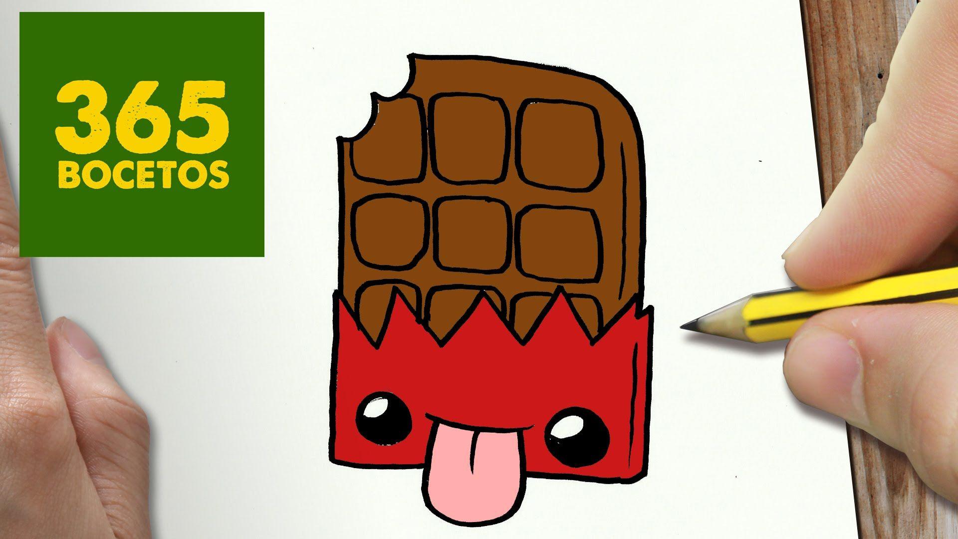 365bocetos Chocolate Buscar Con Google Dessin Dibujos Kawaii