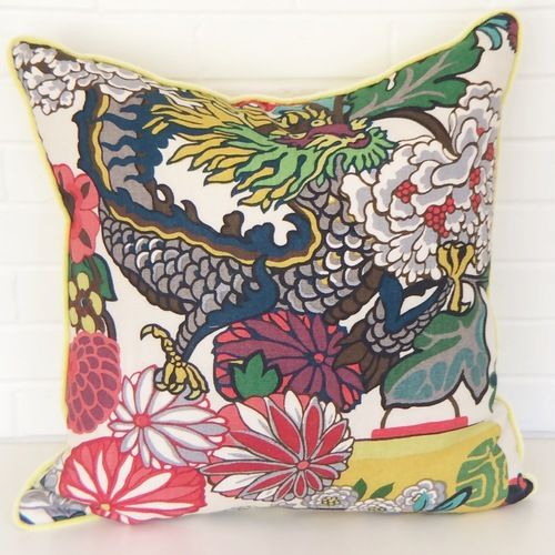 retro und vintage zwei wohnstile inspiriert von der vergangenheit, aquamarine dragon pillow | textile | pinterest, Design ideen