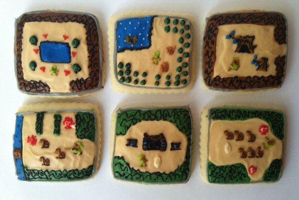 Adventurer / Medieval Video Game Sugar Cookies with ...