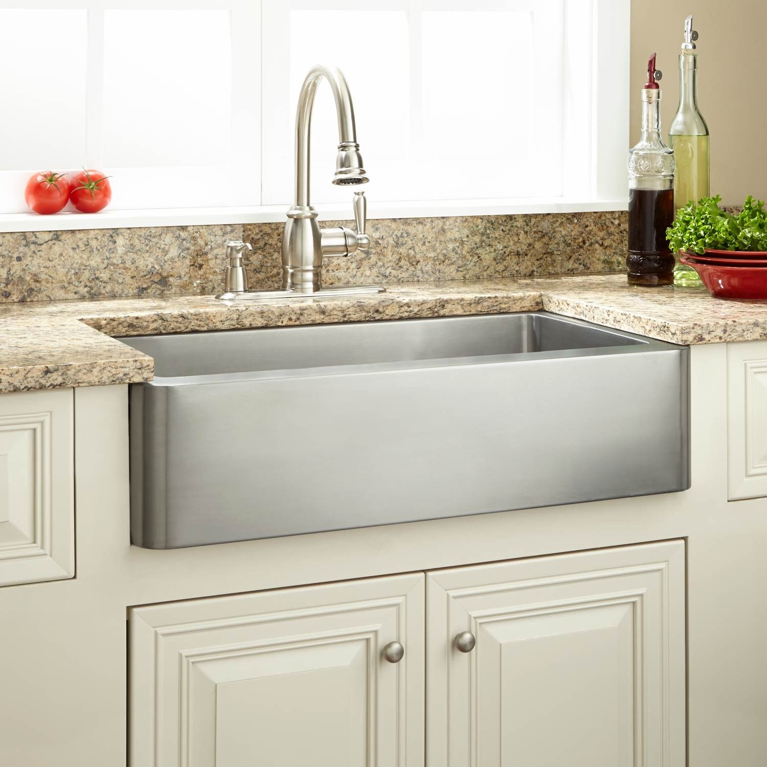 30 Hazelton Stainless Steel Retrofit Farmhouse Sink Stainless