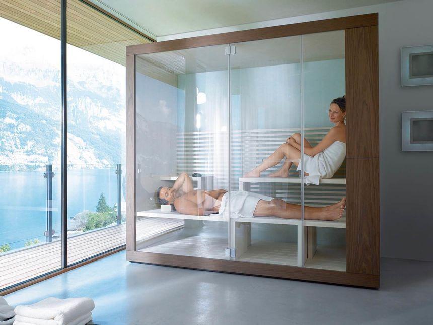 Sauna - Der Star im | Private sauna, Badezimmer und Dampfraum
