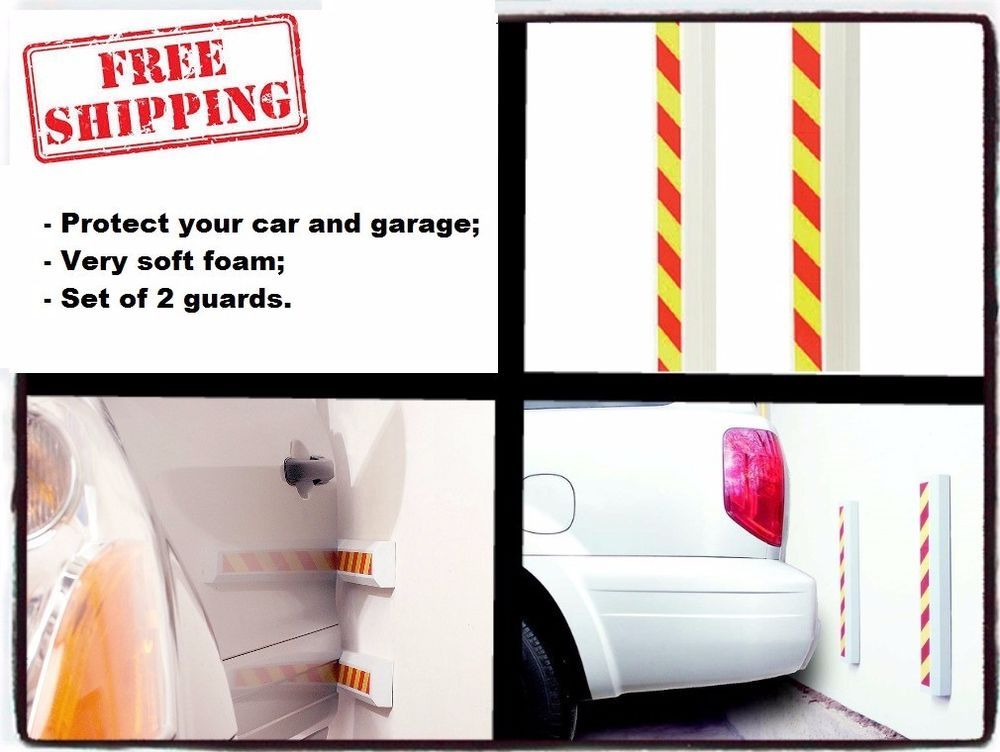 Car Door Protector Vehicle Bumper Garage Wall Guard 2 Reflective