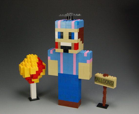 Lego Custom Five Nights At Freddy S Balloon Boy By Brickbum Five Night Five Nights At Freddy S Fnaf