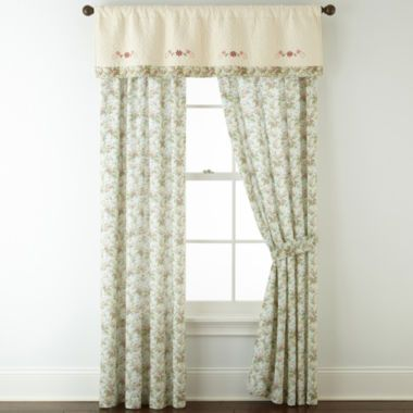 Home ExpressionsTM Stacey 2 Pack Curtain Panels