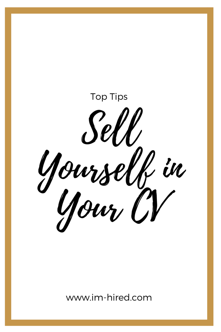 learn to sell yourself in the interview you need to show them what makes you