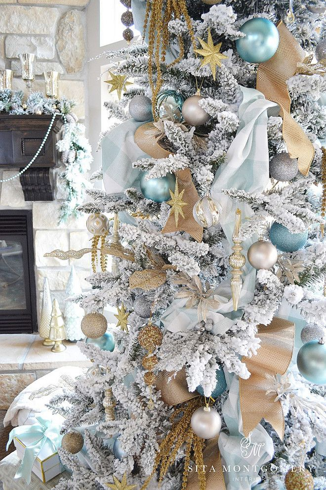 Turquoise And Silver Christmas Tree Decorations  from i2.wp.com