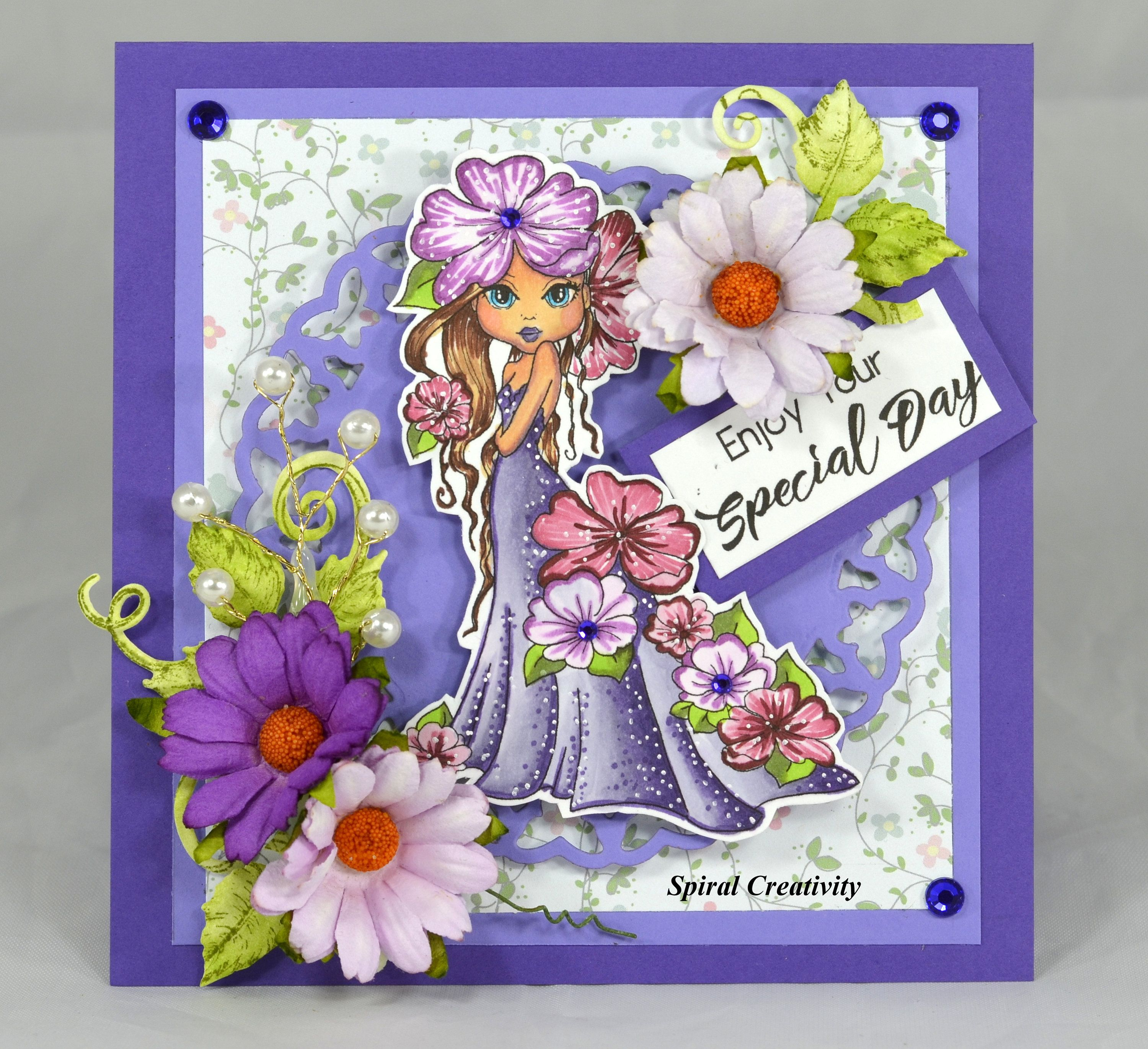 Birthday Card Special Occasion Handmade Greeting Card Unique Card