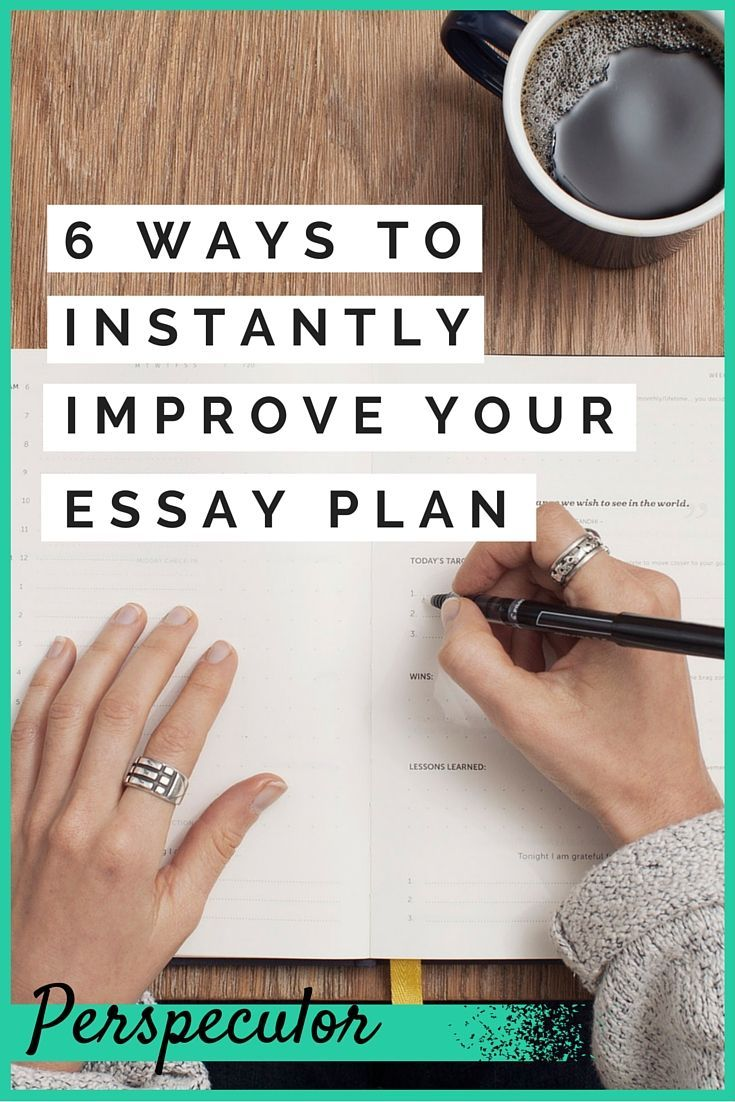 Have trouble planning essays try one of these 6