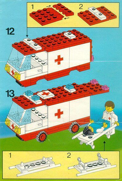 Rescue Ambulance Lego 6688 M Pinterest Ambulance Lego And