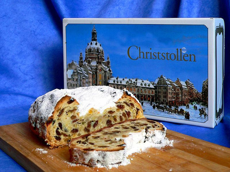 Day 21 Stollen pakage Recipes, German christmas, Christmas