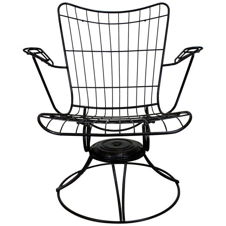 Mid Century Modern Outdoor Lounge Chair By Homecrest Bottemiller