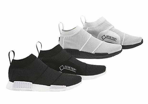 The adidas NMD City Sock Gore-Tex will release in two colorways this coming  November 2017 featuring a weatherproof woven upper.