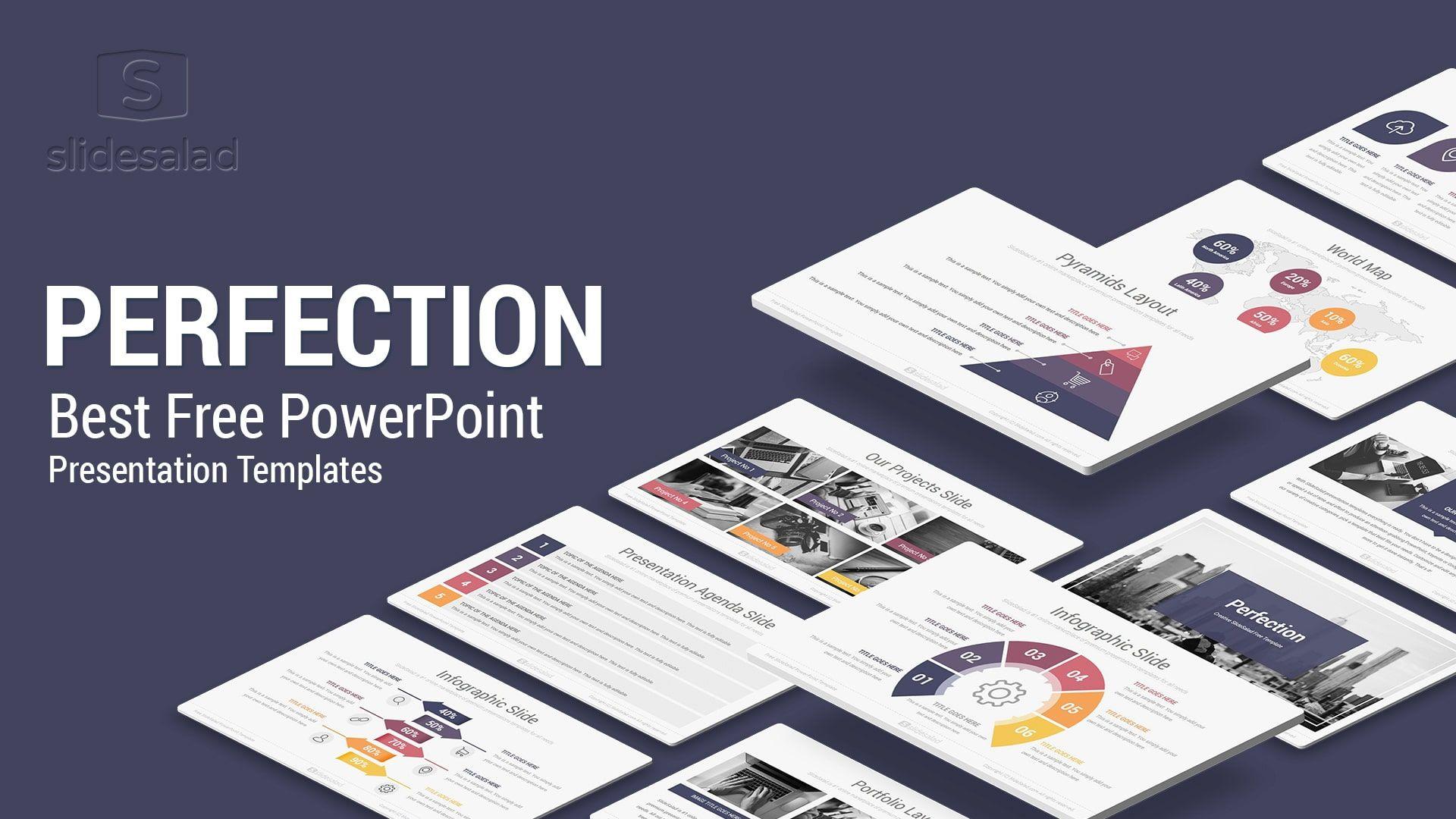 Perfection Free Powerpoint Presentation Template Free Download Powerpoint Template Free Powerpoint Presentation Free Powerpoint Presentations