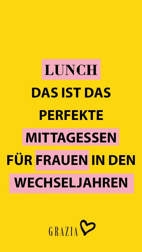 Wechseljahre: Das ist das perfekte Mittagessen für Frauen in der Menopause   – Girlpower