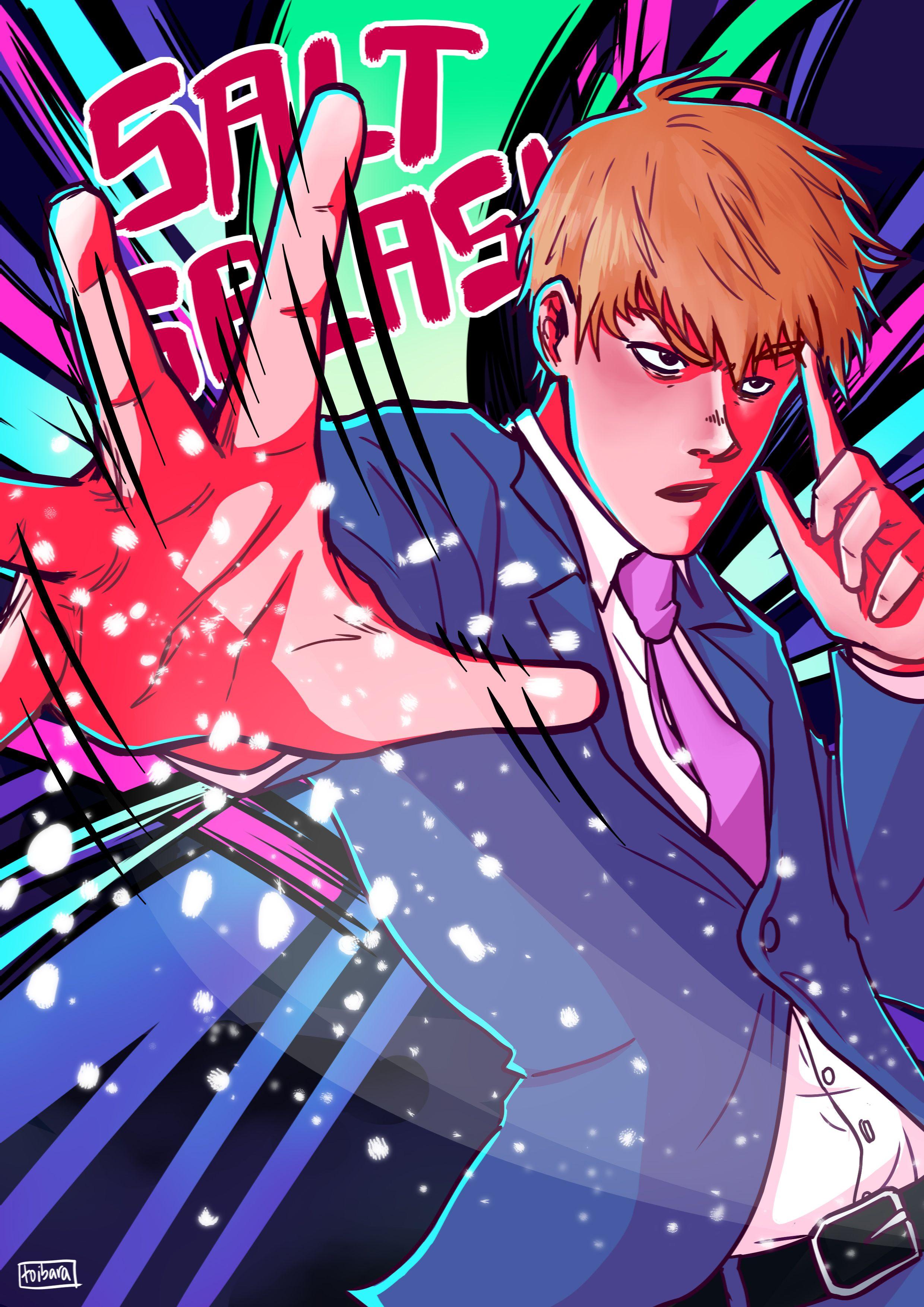 Arataka Reigen Mob Psycho Anime Psycho 100